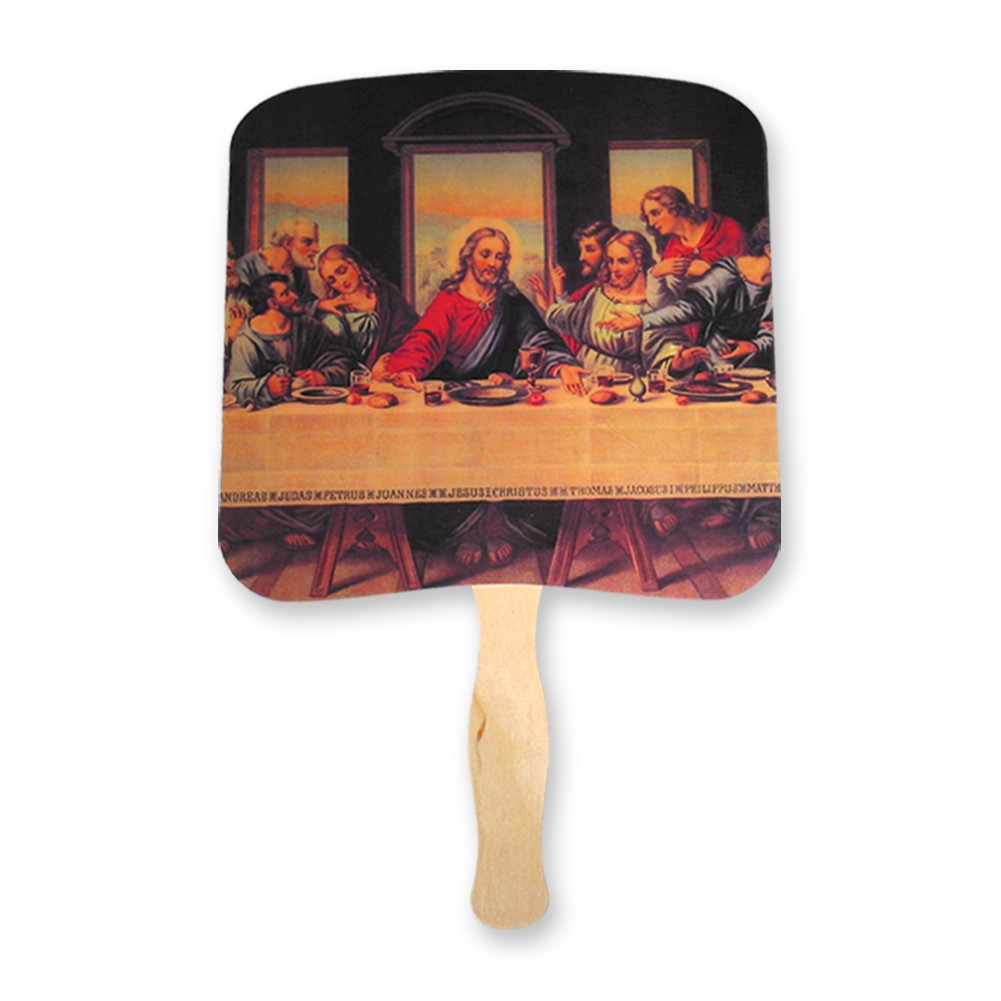 The Last Supper hand fan