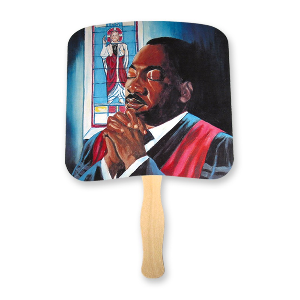 Martin Luther King Jr. Praying hand fan