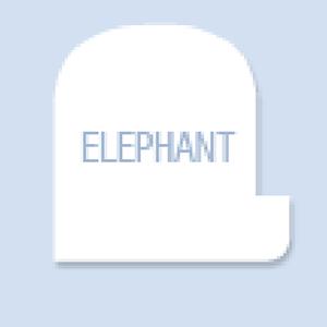 Elephant Shape Hand Fan