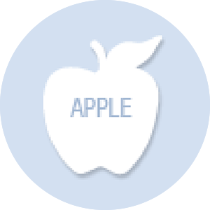 Apple Shape Hand Fan