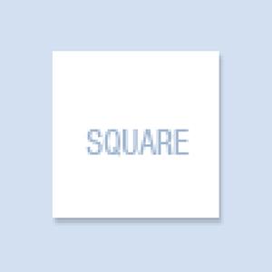 Square Shape Hand Fan