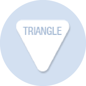 Triangle Shape Hand Fan