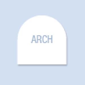 Arch Shape Hand Fan