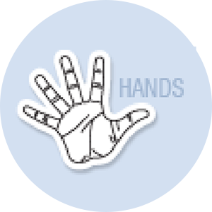Hand Shape Hand Fan